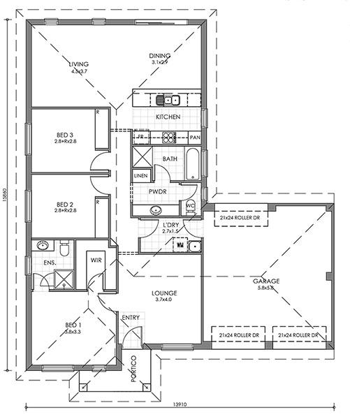 Hindmarsh Floor Plan