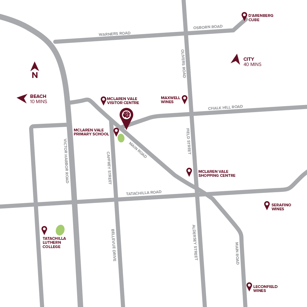 Highgrove Location Map